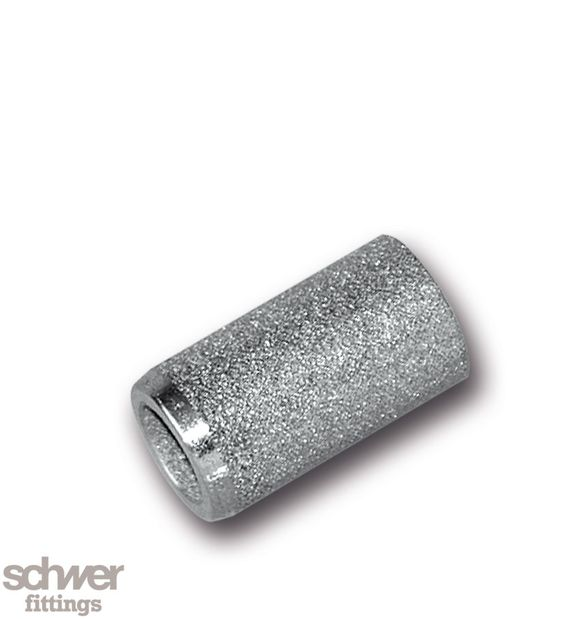 Sinterfilter - Poröser Filtereinsatz zum Filtern von feinen Partikeln