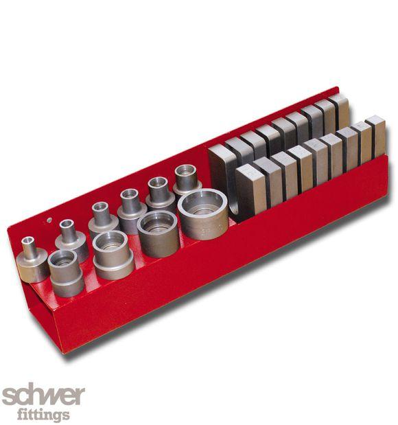 VARO Werkzeughalter für Stutzen und Gegenhalteplatten - (ohne Inhalt)