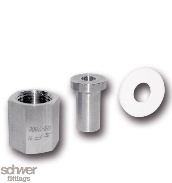 Manometer-Zubehör - Set Nippelverbindung