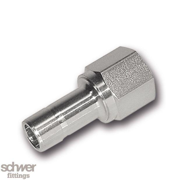Aufschraub-Schaft Adapter - zölligeroder metrischer Schaft auf konisches ISO-Gewinde