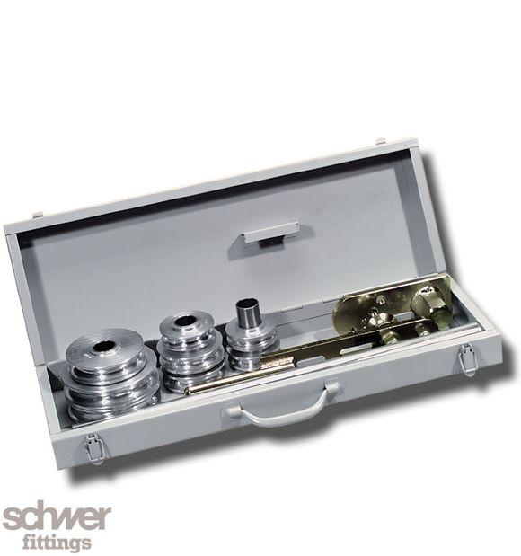 Rohrbiegevorrichtung 6-22 mm - große, kompakte Ausführung Verpackung = LxBxH  72x25x12