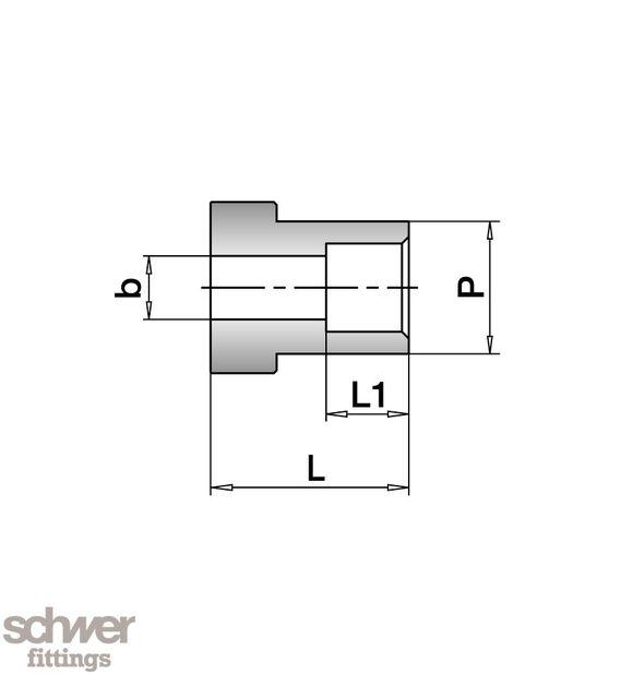 VO-Schweiss-Stutzen