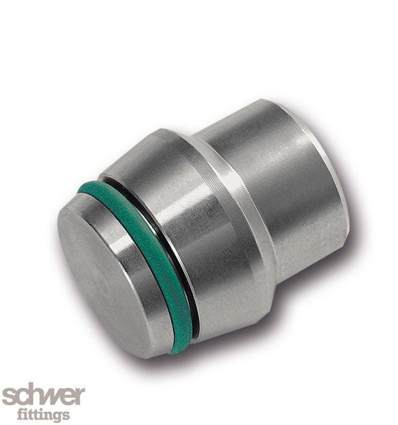Butzen mit O-Ring - Verschlußkegel für Verschraubungskonen