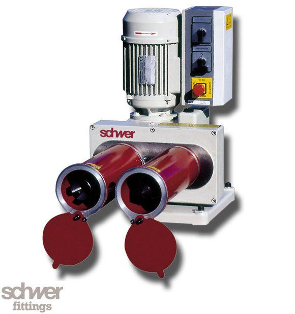 Rohr-Entgratmaschine - für Rundrohr innen und außen entgraten