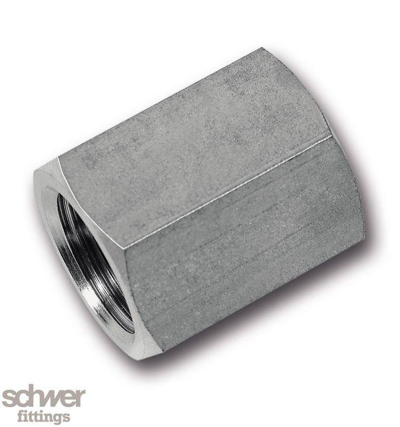 Sechskant-Muffe - mit zylindrischem Whitworth-Rohrgewinde nach EN ISO 228-1
