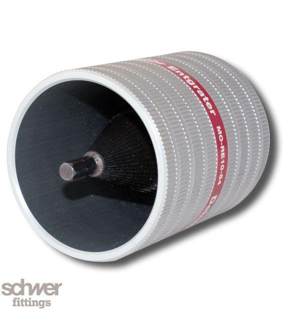 Rohr-Entgrater - auch für den elektrischen Antrieb durch handelsübliche Akku-Schrauber geeignet (Drehzahl ≤ 300 U/min)