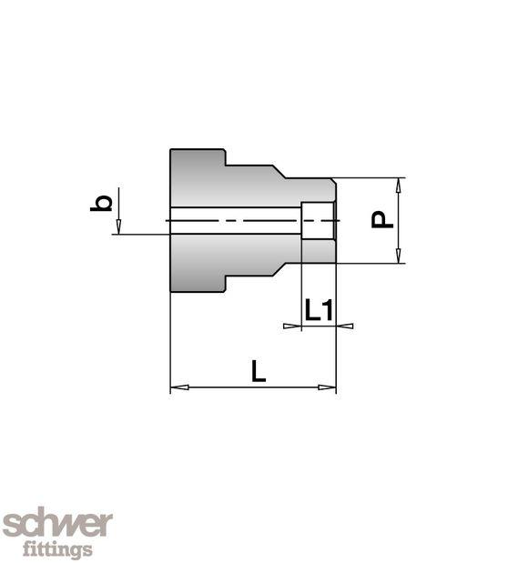 VO-Reduzier-Schweiss-Stutzen