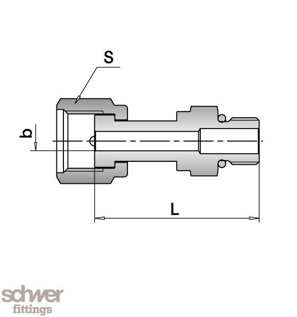 VO-Einschraubverbinder - UNF (SAE/MS)