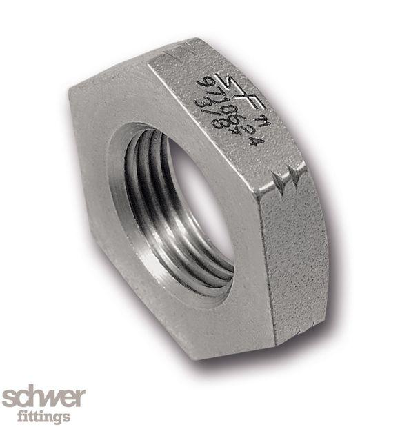 Sechskant-Mutter - nach DIN 431, mit zylindrischem Whitworth-Rohrgewinde nach EN ISO 228-1
