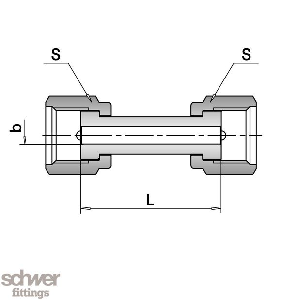 Nut Flat Face Connector