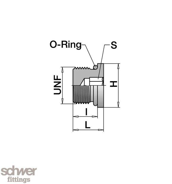 Male Plug - Schwer Fittings